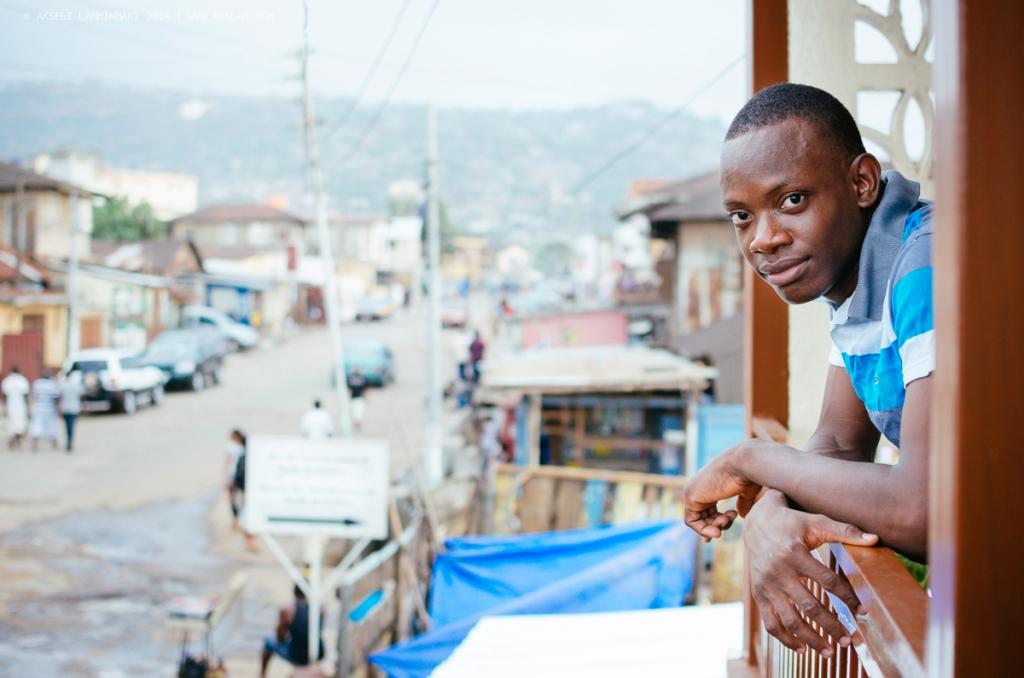 People along the way, Sierra Leone