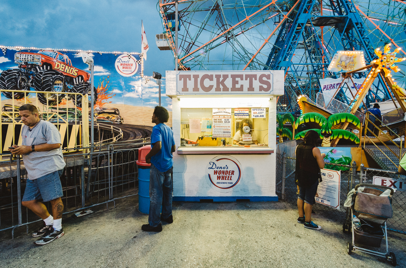 Deno's Wonder Wheel, Coney Island
