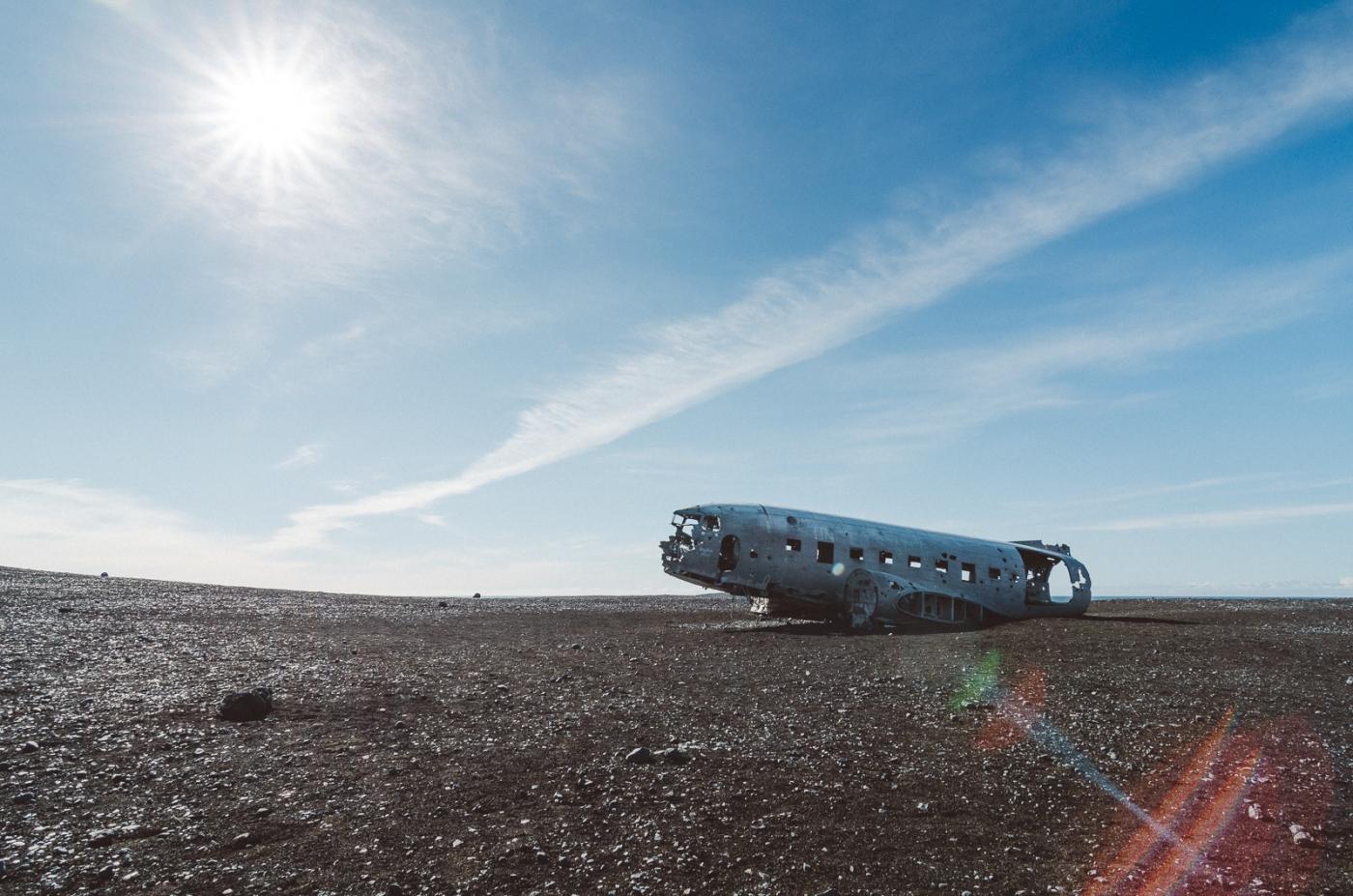 U.S. Navy DC-3, Sólheimasandur